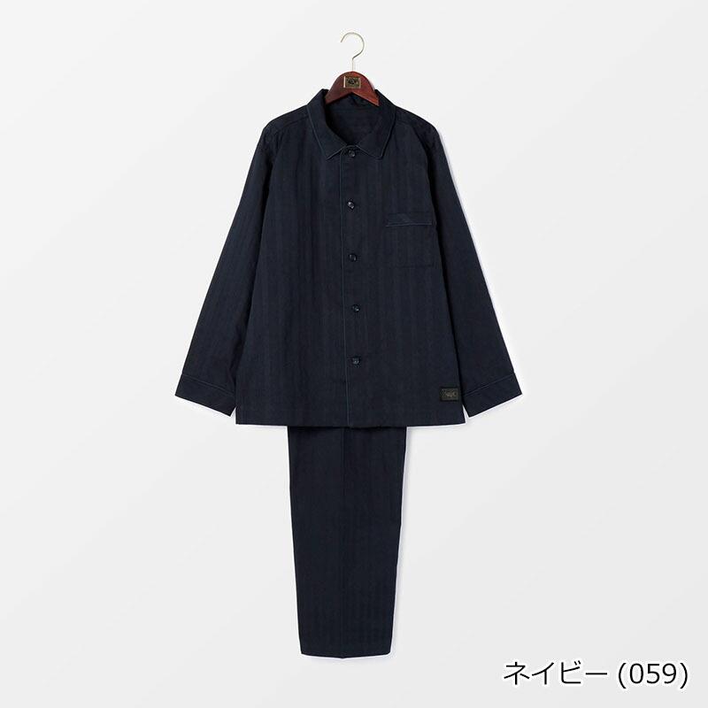 【SALE】メンズ ドビーストライプパジャマ 日本製 | テネリータ TENERITA
