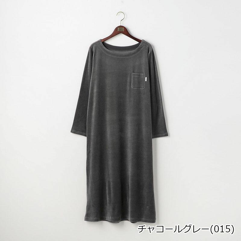 【SALE】オーガニックコットン ベロアレディースワンピース 日本製 | テネリータ TENERITA
