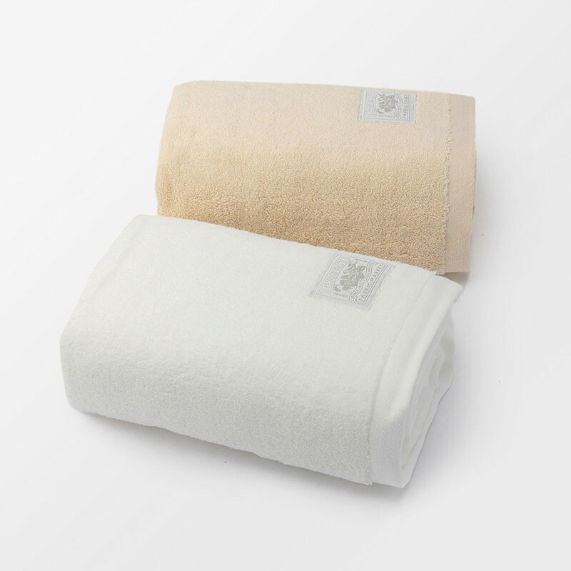 超甘撚りエクストラリッチバスタオル2枚セット ホワイト・生成 | テネリータ TENERITAvNnm8OwP0y