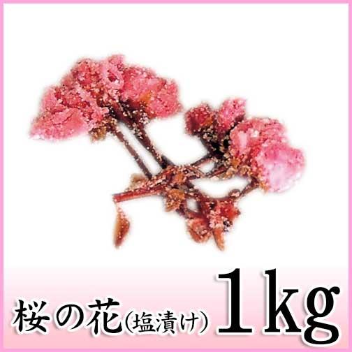 塩と梅酢で漬けこんだ八重桜の花 桜の花 塩漬 1kg 関山 天極堂 国産 和菓子 定価 1コのみネコポス便可 最新アイテム 和食