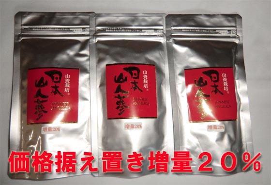 【送料無料】 日本山人参  1箱中  67.5g( 250mg×270錠) 【送料無料】
