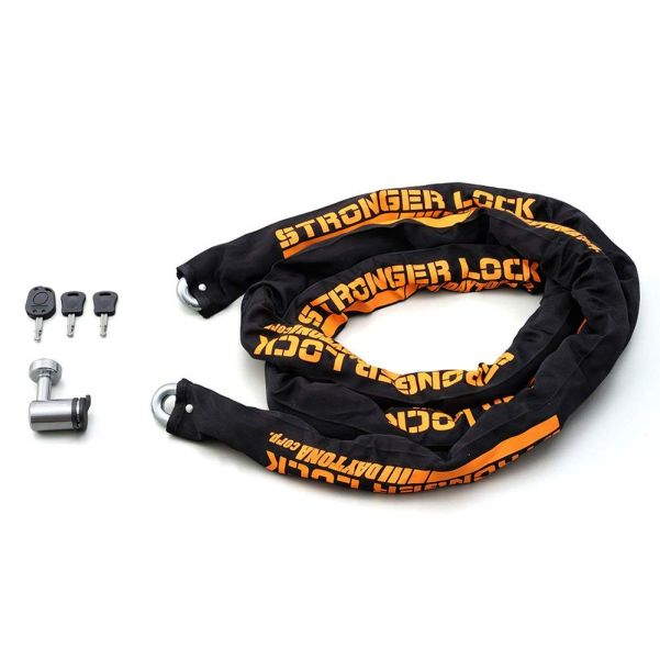 95400 デイトナ ストロンガー チェーンロック 3.0m daytona 3m ディスクロック LEDライト搭載 (旧品番:91515)
