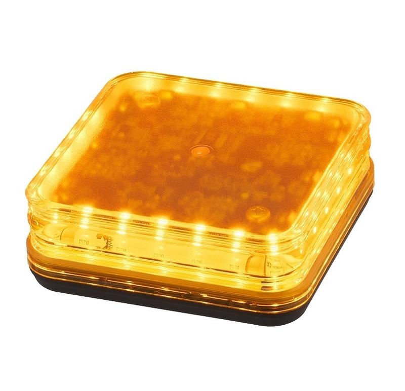 LEDK10Y 角型警光灯 K型 黄色 小糸製作所 KOITO イエロー 回転灯