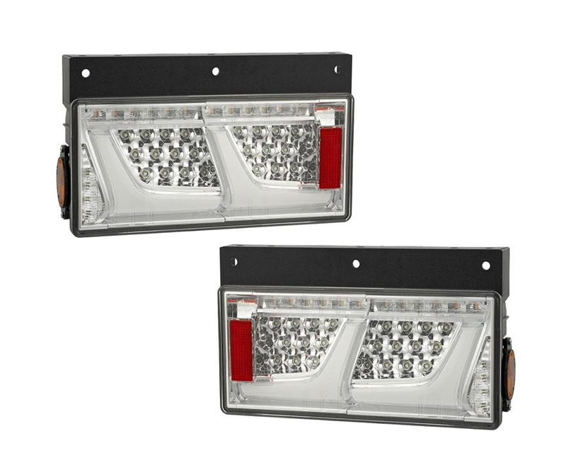 LEDRCL-24R2C/L2C 左右セット LEDリアコンビネーションランプ 2連 クリア タイプ(左右1セット) 小糸製作所 Koito