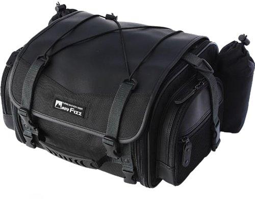 平日15時までのご注文で当日出荷 MFK-100 タナックス 価格 ミニフィールドシートバッグ モトフィズ ブラック バイク TANAX MOTOFIZZ ツーリング 可変容量19-27L SALENEW大人気!