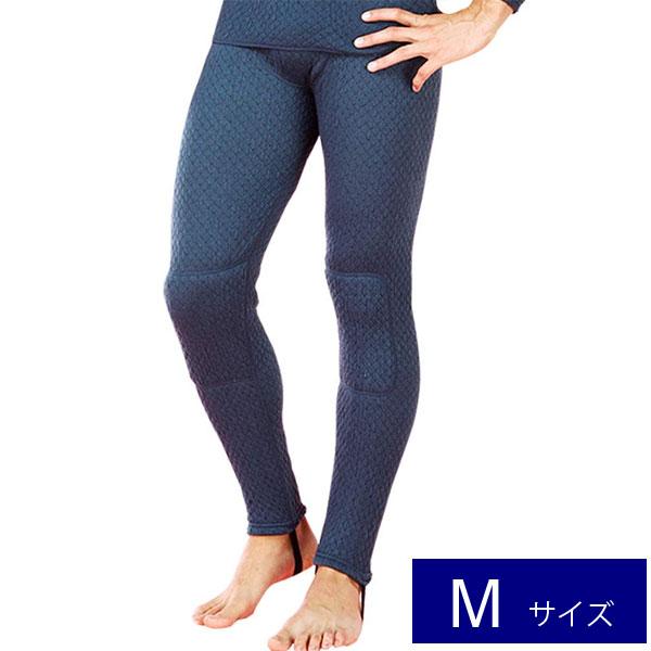 【Mサイズ】 ひだまり 健康肌着 チョモランマ 紳士用 前開きタイツ KENSEN ケンセン 健繊 QM961