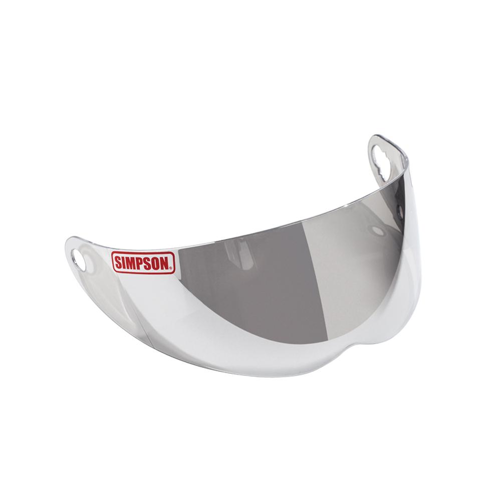 送料無料でお届けします 適合品 スーパーバンディット13 アウトロー ダイヤモンドバック RX10 即納 SIMPSON シンプソン ライトクローム 付け替えシールド SB13 FreeStop DB 安値 OUTLAW RX10適合