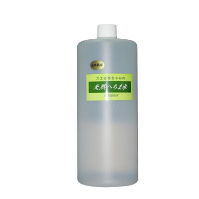 ヘチマ水100%完全無添加のオーガニック天然化粧水「スエばあちゃんの5年熟成へちま水」1000ml