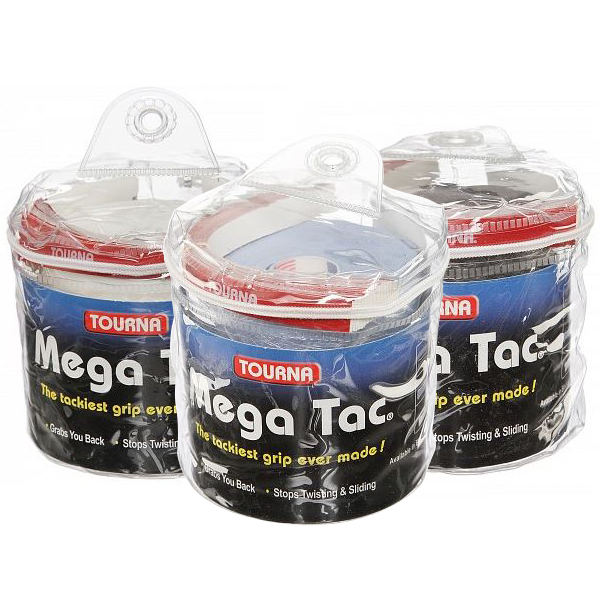 メール便可 割引 メール便選択で日本全国送料無料 即納 当店は最高な サービスを提供します ポイントアップ トーナ メガ タック オーバー グリップ XL ウェットタイプ 30 Pack Overgrip 各色 Mega 30本入り Tourna Grip Tac 103cm×29mm