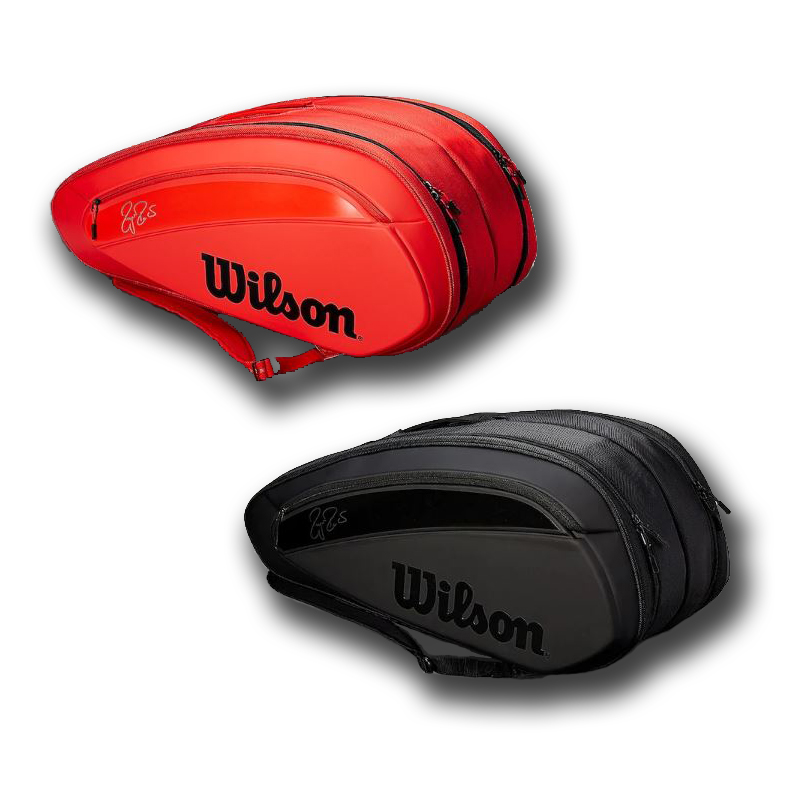 テニス 【12本収納】ウィルソン 2018 フェデラー DNA 12PK ラケットバッグ WRZ830812/WRZ832812 (Wilson Federer DNA 12PACK racket bag)