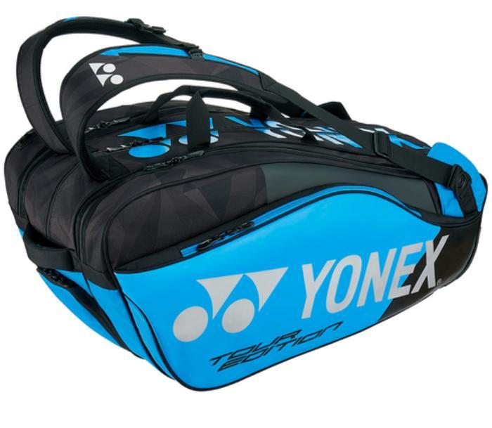 【大坂なおみ使用モデル】2018 ヨネックス プロシリーズ ラケットバッグ 6本入 (2018 Yonex Pro Series 6R Racket Bag) 【2018年4月】(ブルー/ブラック)