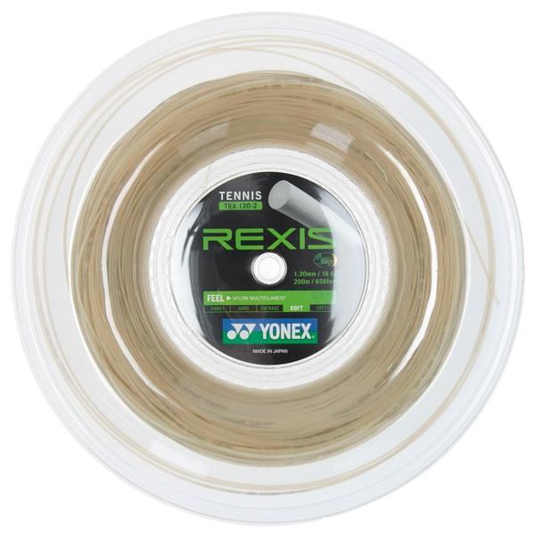 ヨネックス レクシス(1.25/1.30mm) 200Mロール Yonex REXIS (1.25/1.30mm) 200m roll strings
