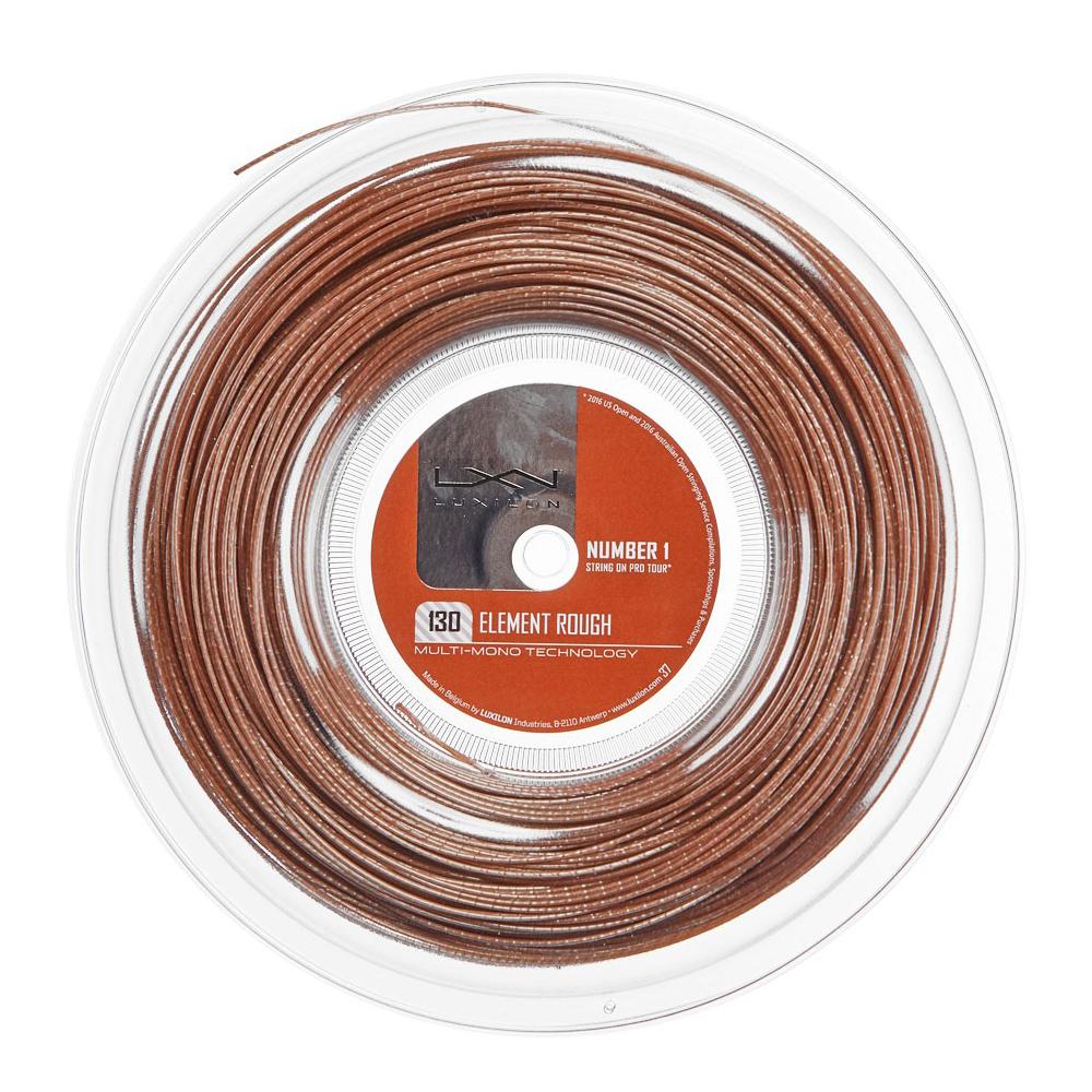 ルキシロン エレメント ラフ(1.30mm) 200Mロール 硬式テニス ポリエステル ガット(Luxilon Element Rough 200m String Reel) WRZ990730