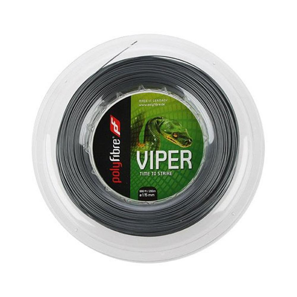 ポリファイバー ヴァイパー(1.15/1.20/1.25/1.30mm) 200Mロール 硬式テニス ポリエステル ガット Polyfibre VIPER (1.15/1.20/1.25/1.30mm) 200m roll strings