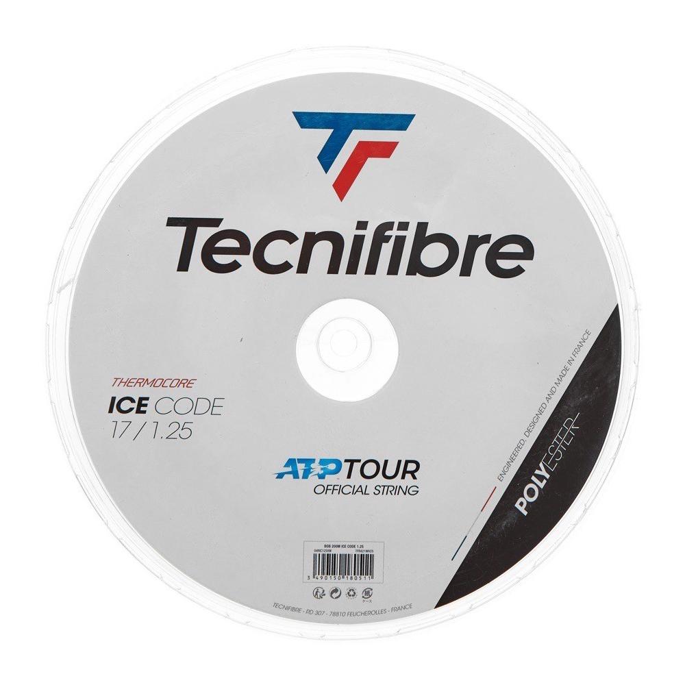 テクニファイバー アイスコード(120 / 125 / 130mm)200Mロール 硬式テニス ポリエステル ガット(Tecnifibre ICE CODE)