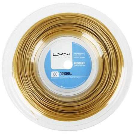 ルキシロン ビッグバンガー オリジナル (1.30mm) 200Mロール 硬式テニス ポリエステル ガット(LUXILON BB ORIGINAL 200m String Reel)WRZ990900