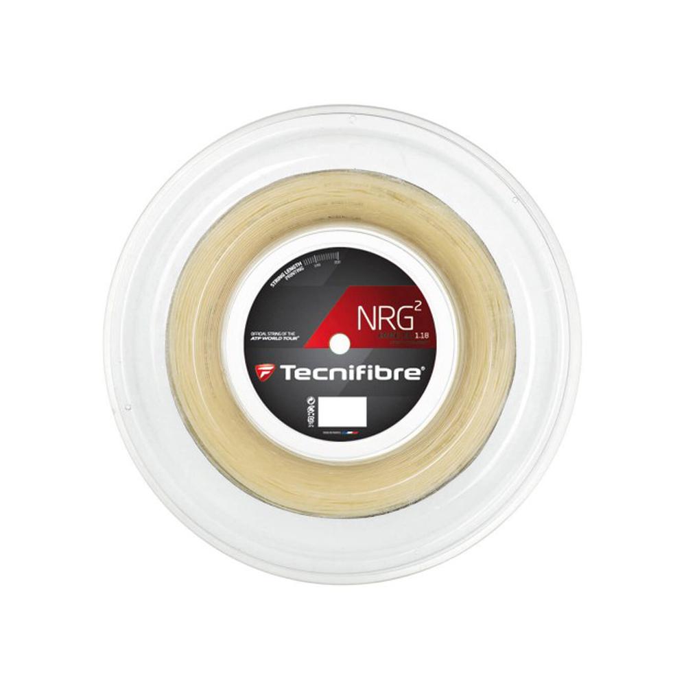 Tecnifibre NRG2 16 1.32mm Tennis Strings 200M Reel