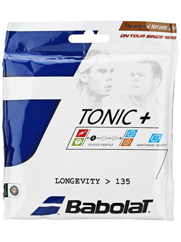 バボラ トニックプラス ロンジビティー 硬式テニスガット ナチュラルガット (Babolat Tonic+ LONGEVITY) 201023/201027