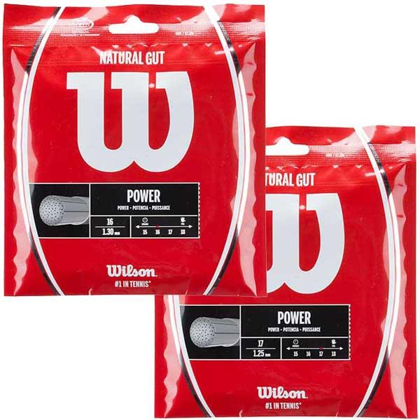 高額売筋 日本郵便 240円 いくつ買っても送料同じ 即納 ポイントアップ 最高級品 ウィルソン ナチュラルガット 1.25mm 新入荷 流行 Wilson Gut Natural 硬式テニスガット 1.30mm WRZ999900 WRZ999800