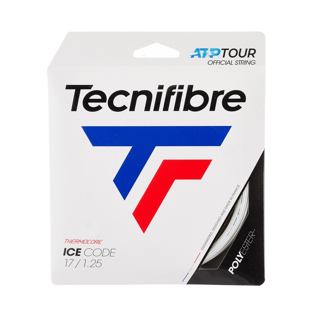 日本郵便 240円 いくつ買っても送料同じ 即納 ポイントアップ 12Mカット品 テクニファイバー アイスコード ポリエステルガット 130mm 再再販 120 125 CODE ICE 本日の目玉 Tecnifibre 硬式テニス