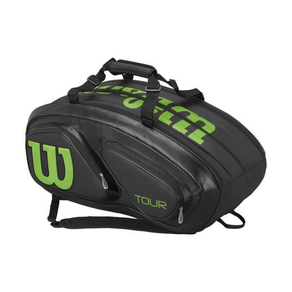 【15本収納】ウィルソン 2017 ツアーVシリーズ 15PK ラケットバッグ ブレードカラー(Wilson Tour V 15Pack Bag Blade color) WRZ845615【2017年2月発売】
