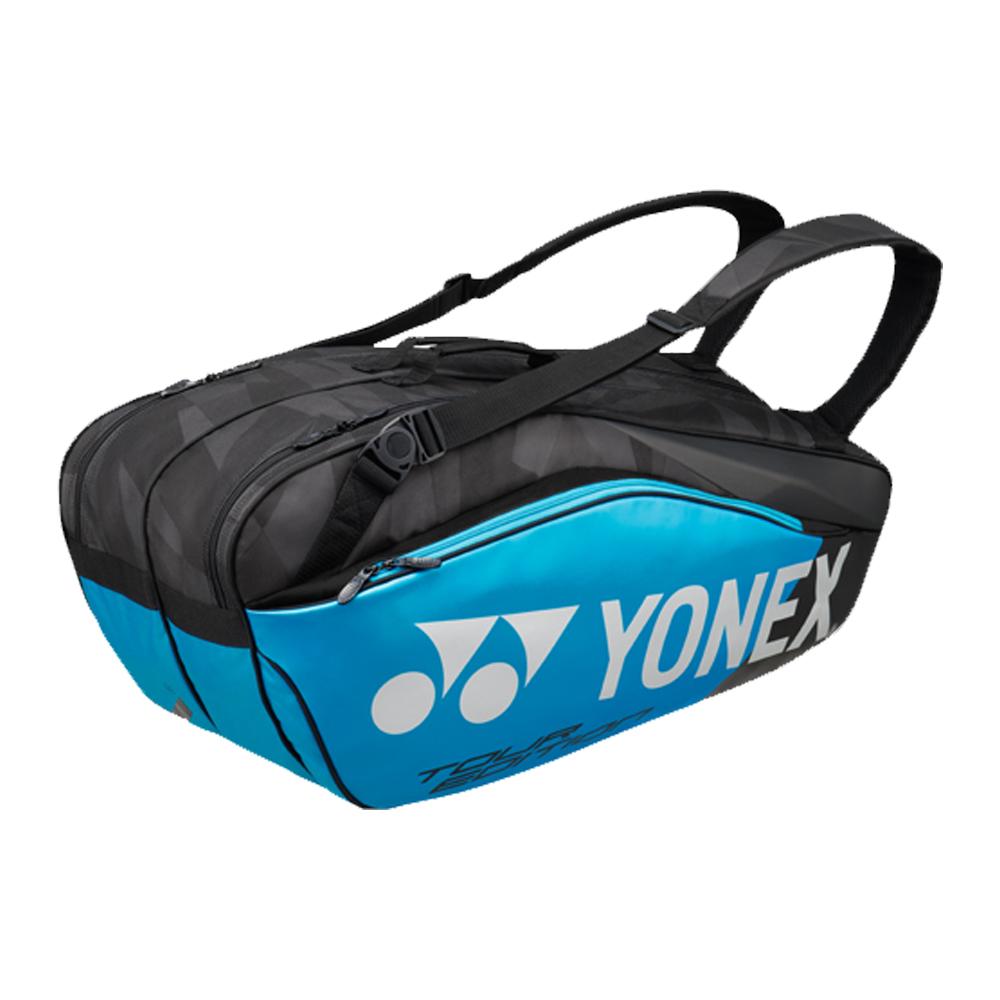 【大坂なおみモデル】ヨネックス プロシリーズ ラケットバッグ 6本入 (Yonex Pro Series 6R Racket Bag)(ブルー/ブラック)