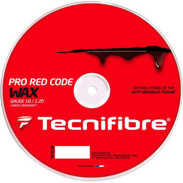 テクニファイバーTECNIFIBRE プロレッドコード ワックス PRO RED CODE WAX【テニスガット(ロールガット200m)】