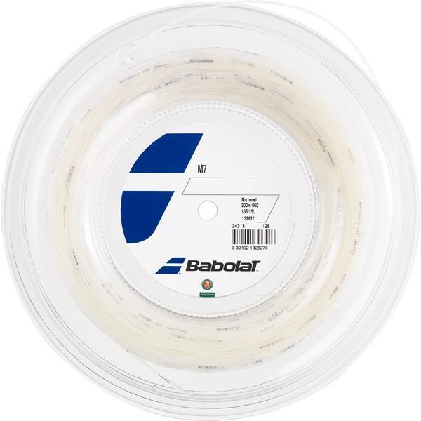 Babolat バボラ M7 200mロールガット/1.25mm、1.30mm、1.35mm、1.40mm