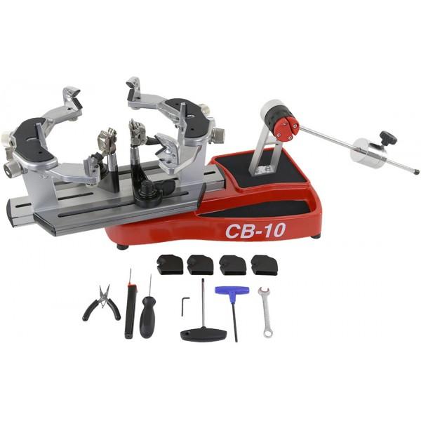 【3年保証付】ストリングマシン(ガット張り機) CB 10 PRO