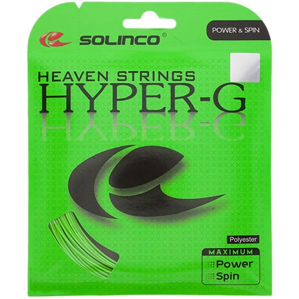 ポイントアップ 張上げ専用 ソリンコ ハイパーG 最安値 SOLINCO HYPER-G 各ゲージ 1.25 1.20 1.15 1.30mm ガット 1.05 1.10 ※アウトレット品