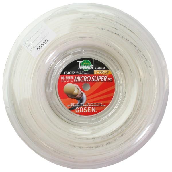 ゴーセン OGシープ ミクロスーパー1.35mm 220mロール GOSEN OG SHEEP MICROSUPER 15L