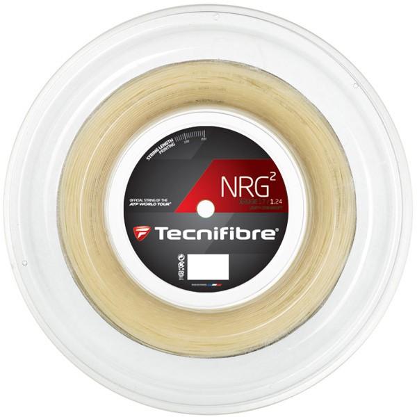 テクニファイバー エヌアールジースクエア Tecnifibre NRG2 200mロールガット /1.24・1.32mm