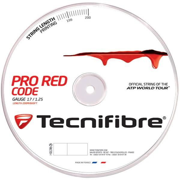 テクニファイバー レッド コード 200mロール(Tecnifibre Red Code)各ゲージ1.20mm 1.25mm 1.30mm