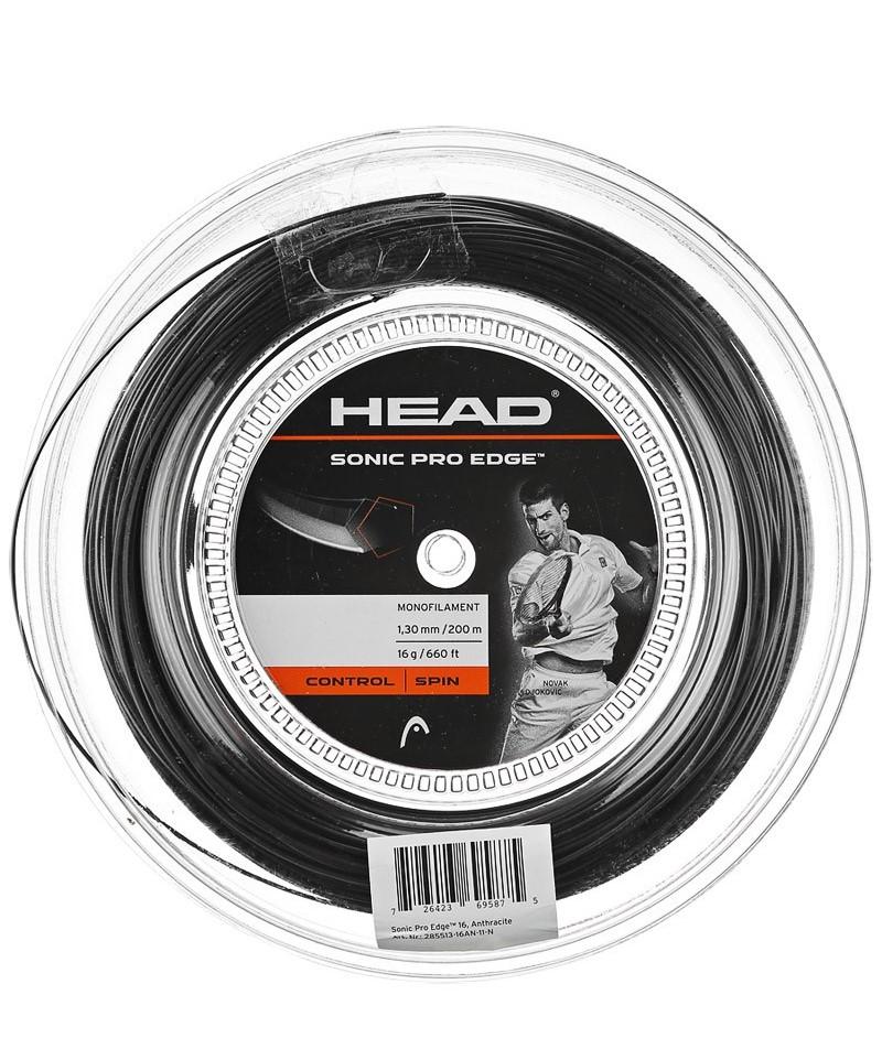 ヘッド ソニック プロ 200mロール 黒 HEAD SONIC PRO 200mロール