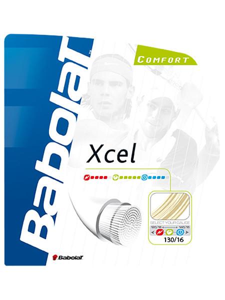 ポイントアップ 即出荷 張上げ専用 Babolat Xcel 1.25mm 1.30mm バボラ 新品未使用正規品 エクセル