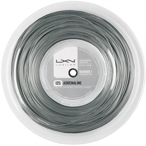 送料無料Luxilon Adrenaline(ルキシロン アドレナリン)200mロールガット/1.20mm、1.25mm、1.30mm