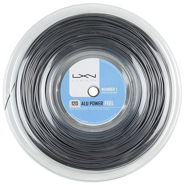 ルキシロン アルパワー フィール Luxilon ALUPOWER FEEL 200mロールガット/1.20mm
