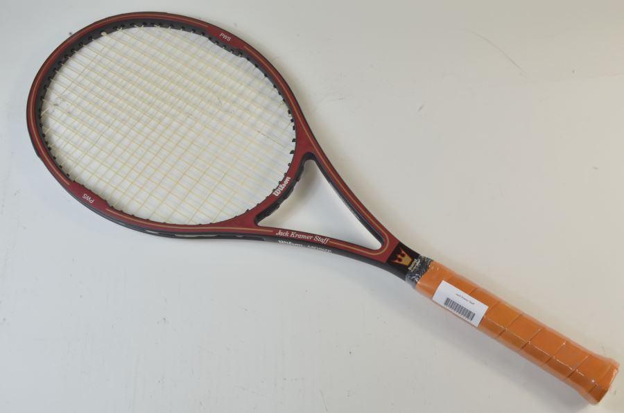 ウィルソン ジャッククレーマー スタッフWILSON JacK Kramer Staff(G3)【中古】(スポーツ/ラケット/硬式用/テニスラケット/ウィルソン/ウイルソン/テニスサークル) 人気