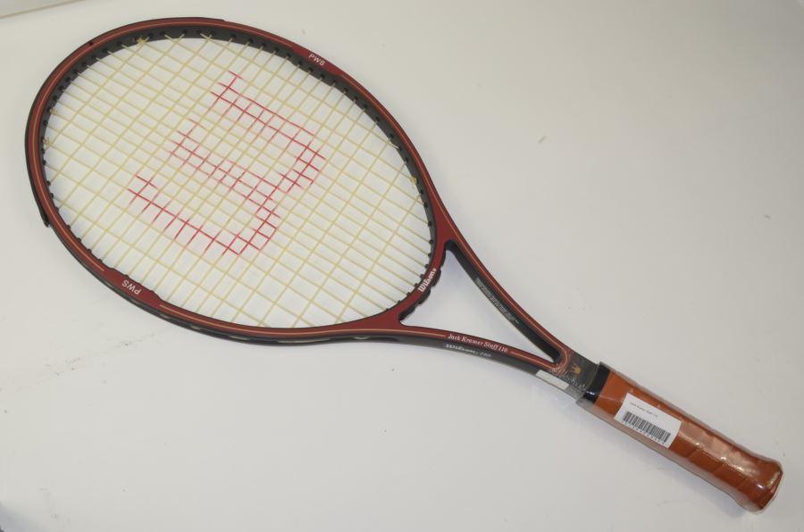(中古 ラケット テニスラケット)ウィルソン ジャッククレーマー スタッフ110WILSON JacK Kramer Staff 110(L5)【中古】(スポーツ/ラケット/硬式用/テニスラケット/ウィルソン/ウイルソン/テニスサークル) 20P20May17