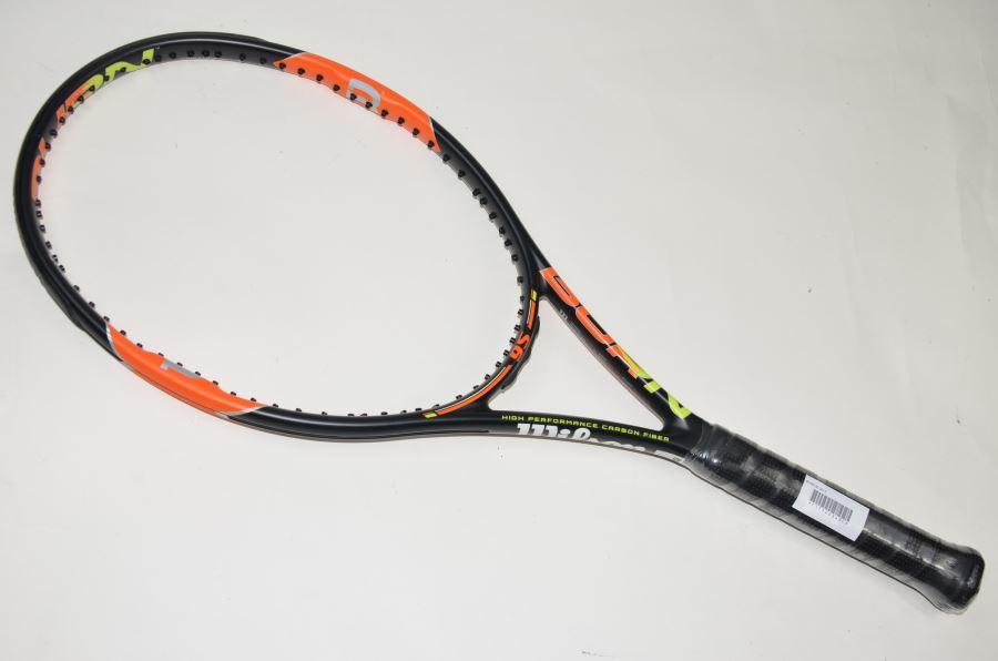 ウィルソン バーン 95 2015年モデル 【スマートテニスセンサー対応】WILSON BURN 95 2015(G4)【中古 テニスラケット】【中古】(スポーツ/ラケット/硬式用/テニス用品/テニスラケット/ウィルソン/ウイルソン/テニス用品/テニスサークル/通販/)