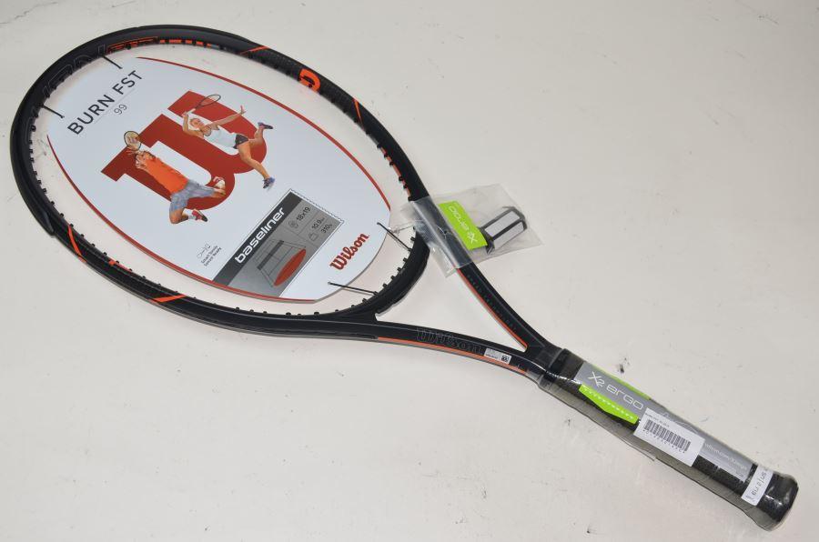 ウィルソン バーン エフエスティー 99 2016年モデル 【スマートテニスセンサー対応】WILSON BURN FST 99 2016(G2)【テニスラケット】(ラケット 硬式用 硬式テニスラケット テニスサークル 部活 テニス用品)