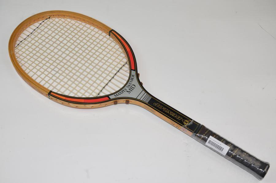 【中古】ダンロップ マックスプライ マッケンロー MID 1982年モデルDUNLOP MAXPLY McENROE MID 1982(L3)【中古 テニスラケット】(ラケット 硬式用 中古ラケット 中古テニスラケット 硬式テニスラケット テニスサークル 部活 テニス用品)