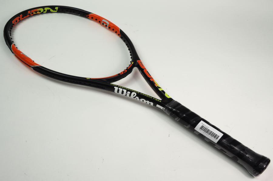 【中古】ウィルソン バーン 95 2015年モデル【スマートテニスセンサー対応】WILSON BURN 95 2015(G3)【中古 テニスラケット】(ラケット 硬式用 中古ラケット 中古テニスラケット 硬式テニスラケット テニスサークル 部活 テニス用品)