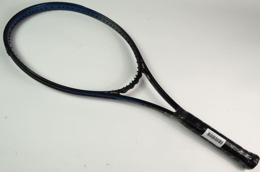 ランクC 中古 プリンス CTS シナジー 28 OS 一部グロメット割れ有り PRINCE 硬式用 硬式テニスラケット 中古テニスラケット SYNERGY テニスラケット G3 初売り 中古ラケット 今季も再入荷 ラケット