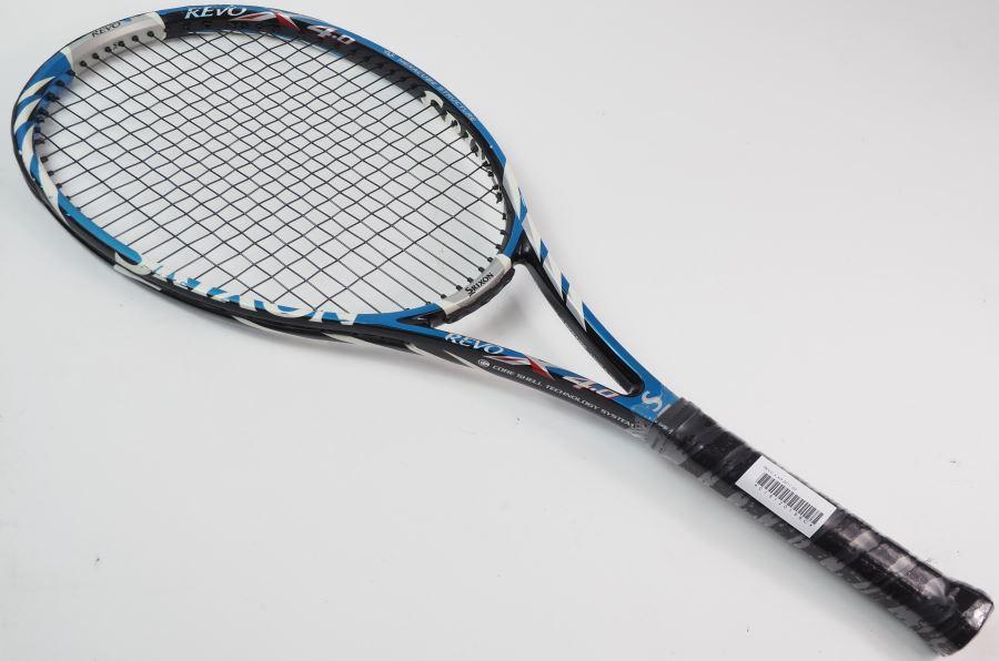 【中古】スリクソン レヴォ エックス 4.0 2011年モデルSRIXON REVO X 4.0 2011(G2)【中古 硬式用 テニスラケット ラケット】