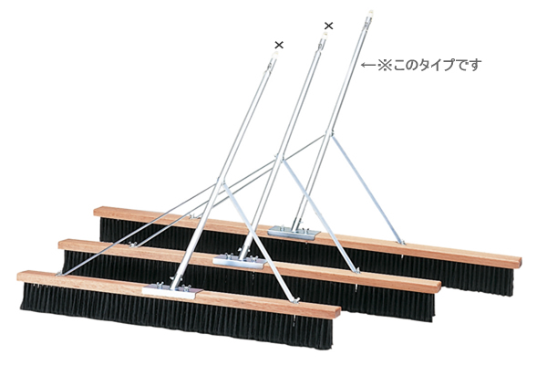 *コートブラシ180cm(TC-503)(ダンロップよりお取り寄せ)【送料無料】 05P03Dec16