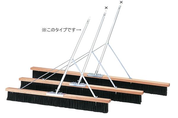 *コートブラシ120cm(TC-505)(ダンロップよりお取り寄せ)【送料無料】 05P03Dec16