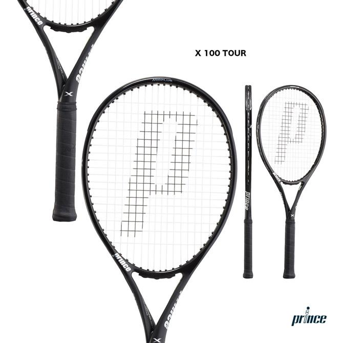 【応援クーポン10%OFF対象商品:9月20日まで】プリンス prince テニスラケット エックス 100 ツアー X 100 TOUR 7TJ092