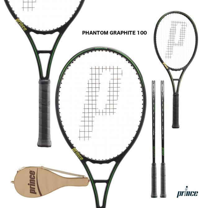 【応援クーポン10%OFF対象商品:9月20日まで】プリンス prince テニスラケット ファントム グラファイト 100 PHANTOM GRAPHITE 100 7TJ108