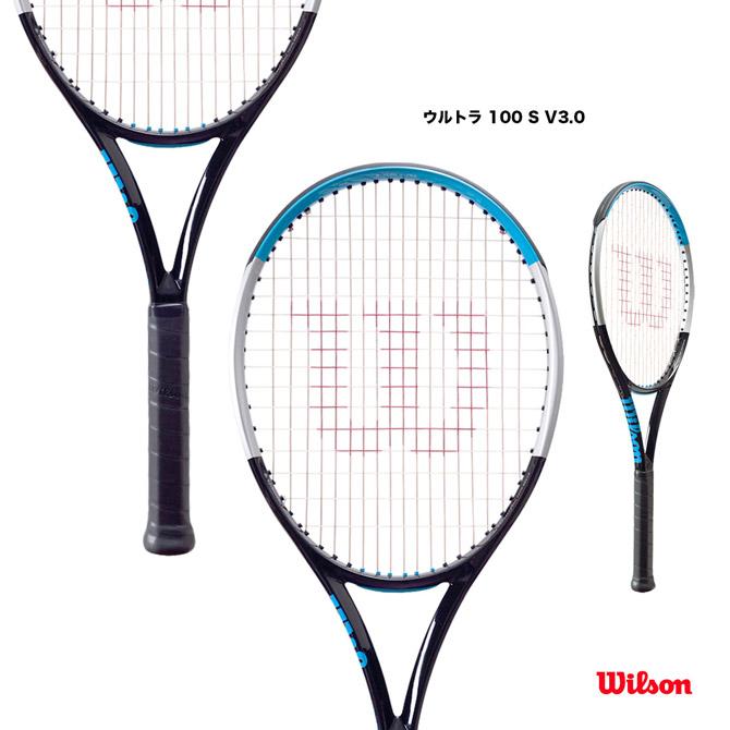 【応援クーポン10%OFF対象商品:9月20日まで】ウイルソン Wilson テニスラケット ウルトラ 100 S V3.0 ULTRA 100 S V3.0 WR043411